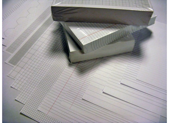 "Exercise Paper 8"" x 6,5"" - 500 Sheets, 75 gsm"
