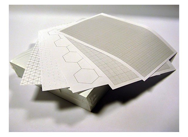 Exercise Paper A3 folded to A4 - 75 gsm, 250 Sheets