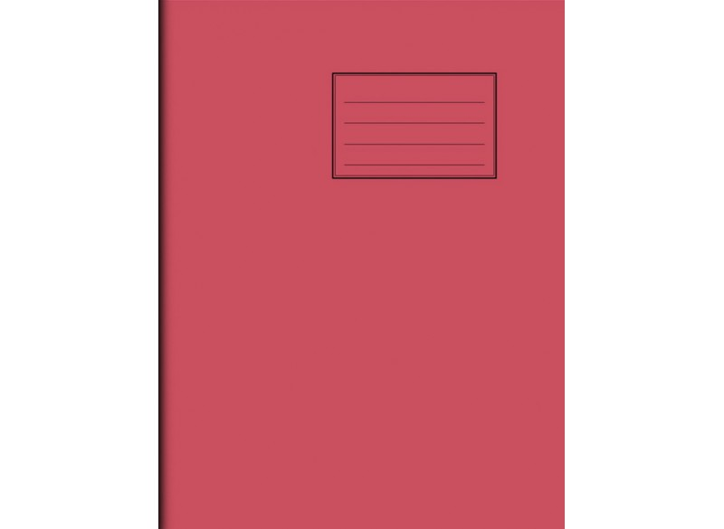 "Exercise Book 9"" x 7"" - 120 pages, 75 gsm"