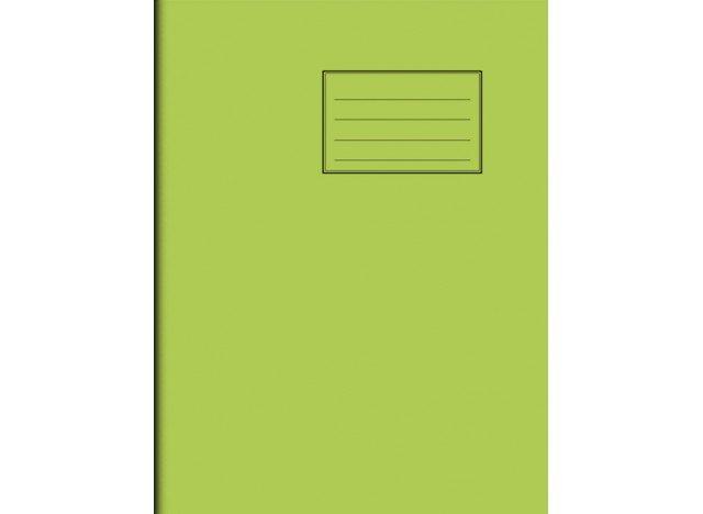 """Exercise Book 9"""" x 7"""" - 80 pages, 75 gsm"""