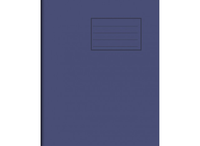 """Exercise Book 8"""" x 6,5"""" - 80 pages, 75 gsm"""
