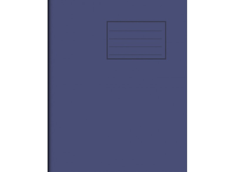 "Exercise Book 8"" x 6,5"" - 80 pages, 75 gsm"