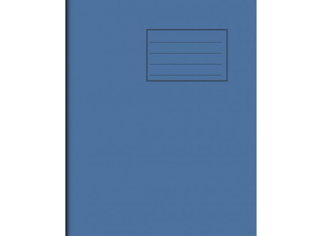 "Exercise Book 8"" x 6,5"" - 64 pages, 75 gsm"