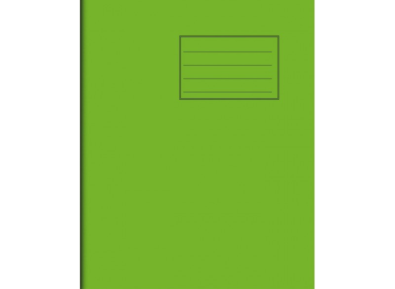 """Exercise Book 8"""" x 6,5"""" - 32 pages, 75 gsm"""