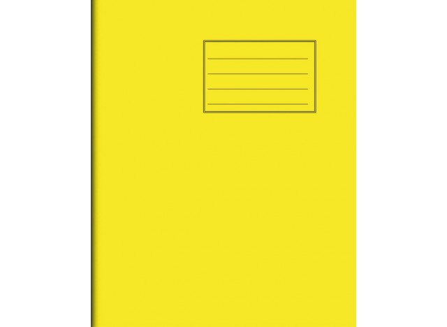 "Exercise Book 8"" x 6,5"" - 32 pages, 75 gsm"