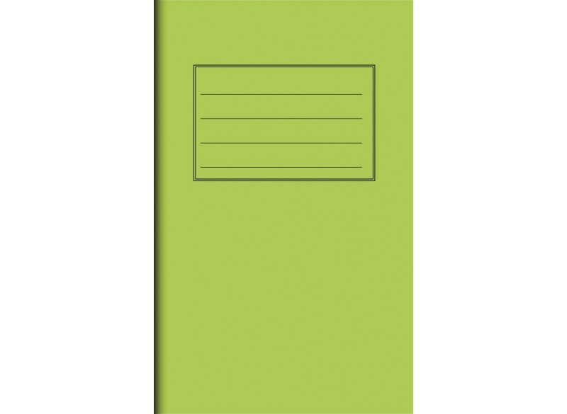 "Exercise Book 6"" x 4"" - 48 pages, 75 gsm"