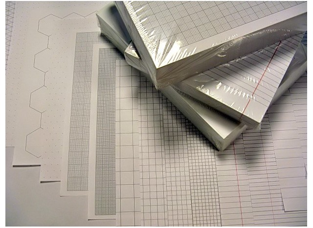 Exercise Paper A4 -  75 gsm, 100 Sheets
