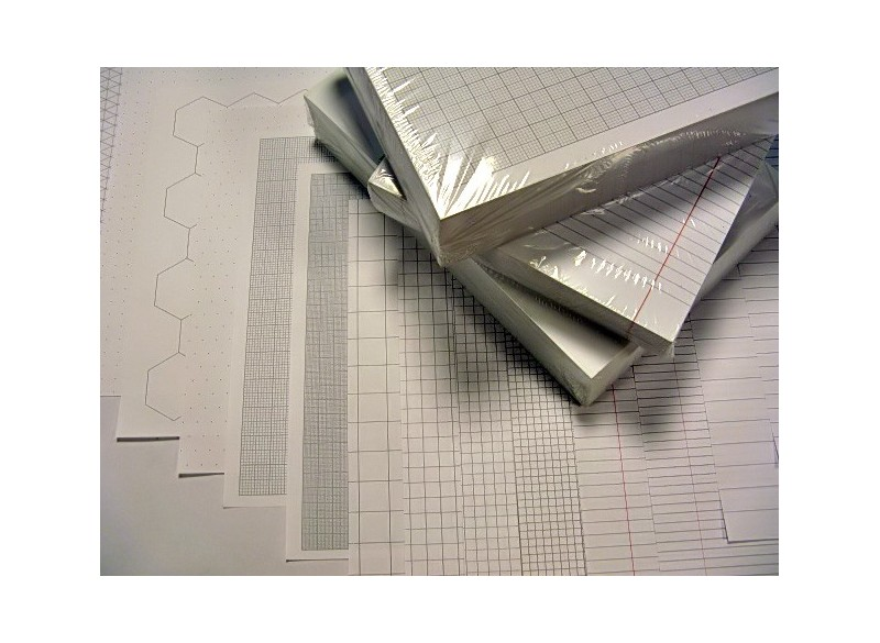 Exercise Paper A4 - 100 Sheets, 90 gsm